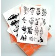 Large Sheets of Clear Stamps