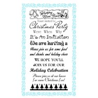 New Year Party Invitations