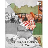 Funny Sport In Scotland Fred Buchanan Cartoons (24 large pages) Vintage Designs for Grayscale Coloring