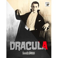 Vampire Dracula Vintage Horror Movie Posters (24 large pages) Vintage Designs for Grayscale Coloring