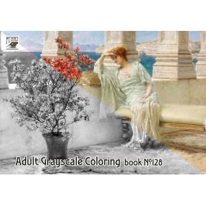 Antique Life Roman Lawrence Alma Tadema (24 large pages) Vintage Designs for Grayscale Coloring