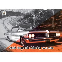 Pontiac American Classic Cars Ads (24 pages) Grayscale Coloring
