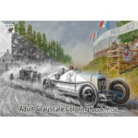 Harry Anderson Everyday Classic Cars (24 pages) Grayscale Coloring