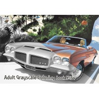 Art Fitzpatrick Classic Cars Commercial (24 pages) Grayscale Coloring