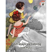 Every Life Cute Little Girl by Hilda Cowham (24 pages) Grayscale Coloring