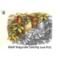 Richard Doyle In Fairyland (24 pages) Grayscale Coloring