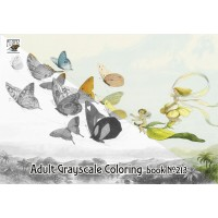 Fairyland by Richard Doyle (24 pages) Grayscale Coloring