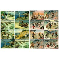 "Winter Sport Rural Holidays // Decoupage Paper Pack (10sheets A4 / 8""x12"")"