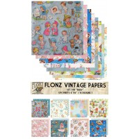 """Baby and Kids Patterns (Paper Set 24 sheets 6""""x6"""")"""