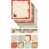 """Christmas Cards Templates (Paper Set 24 sheets 6""""x6"""")"""