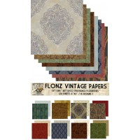 "Provence Art Deco (Paper Set 24 sheets 6""x6"")"
