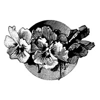 "Flowers Engraving (2.5"" x 3.5"")"
