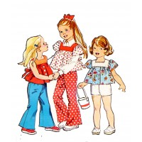 "Young Girls Fashion Disco Style (2.5"" x 3"")"