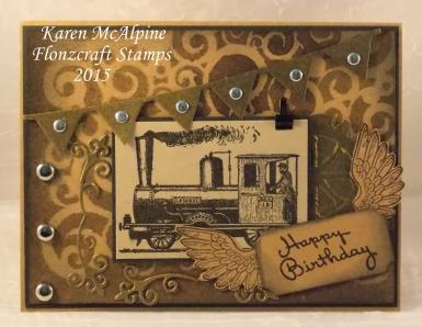 Karen_Steampunk train 1